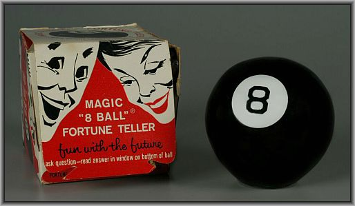 The Magic 8 Ball Online - Ask the Eight Ball Fortune Teller!